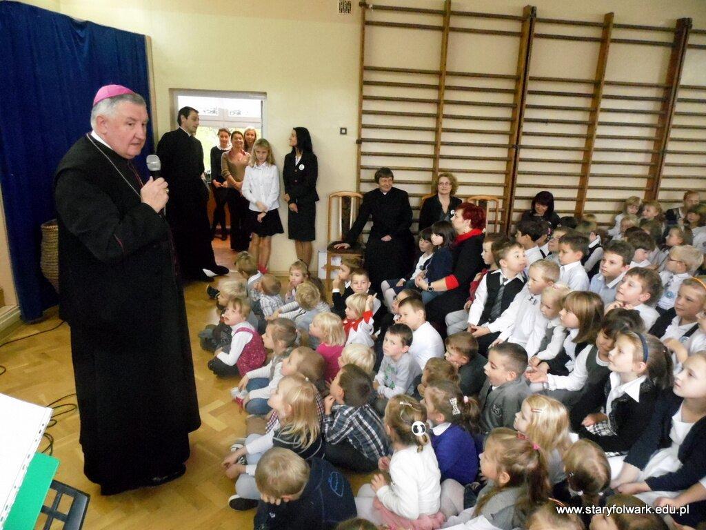 Wizyta JE Ks. Biskupa Romualda Kamińskiego