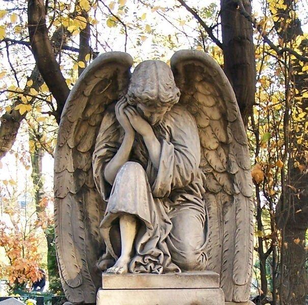 cmentarz anioł