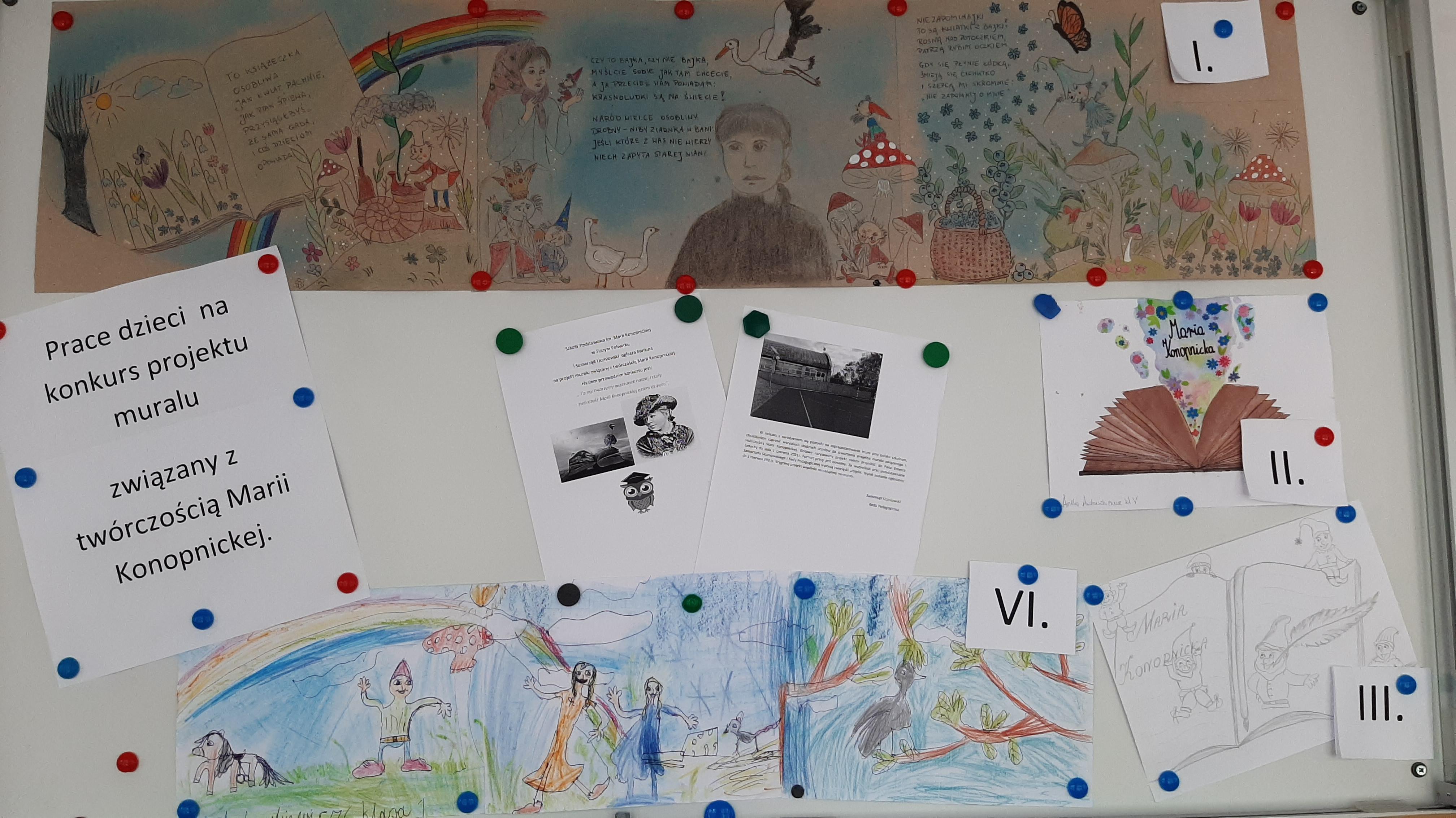 głosowanie mural